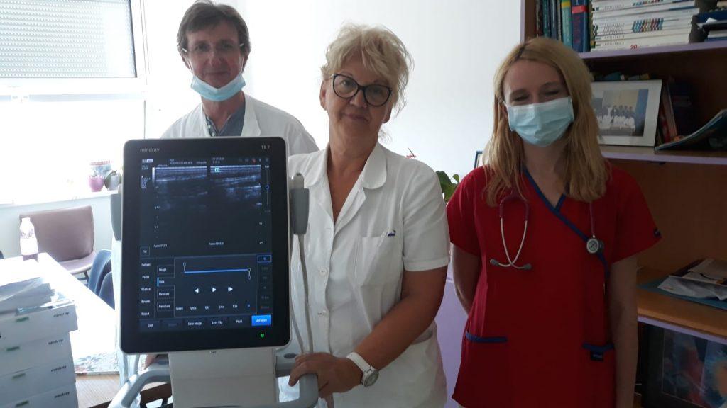 Mindray TE7 Opća bolnica Pula ultrazvuk